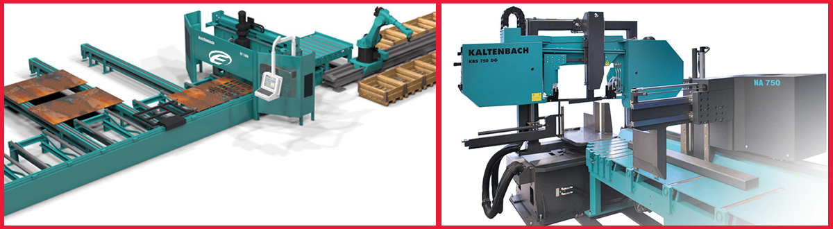 Kaltenbach Drill and saw lines from Engineering Machinery UK and Ireland - call our service team or sales team today