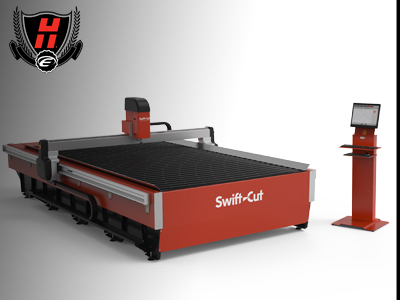 Swiftcut CNC Plasma 4 metre table cost with Hypertherm - 4metre plasma for sale UK Swiftcut- Hypertherm - How much is a cnc plasma ?