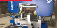 Bandsaws | Automatic Saws - Saw Blades - Semi auto bandsaw for metal cutting - Engmach