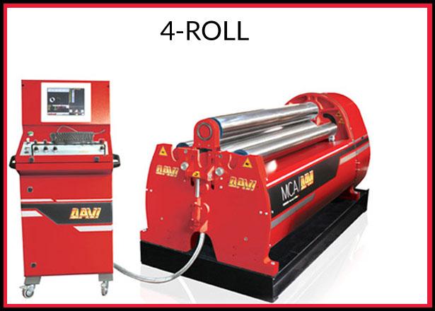 4 roll plate rolls davi