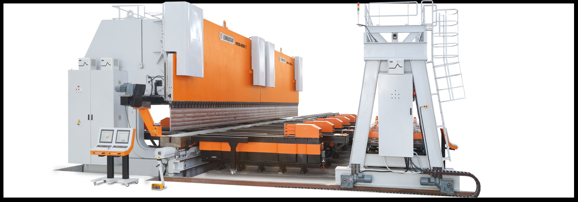 7 Axis CNC Pressbrake with 3d controller