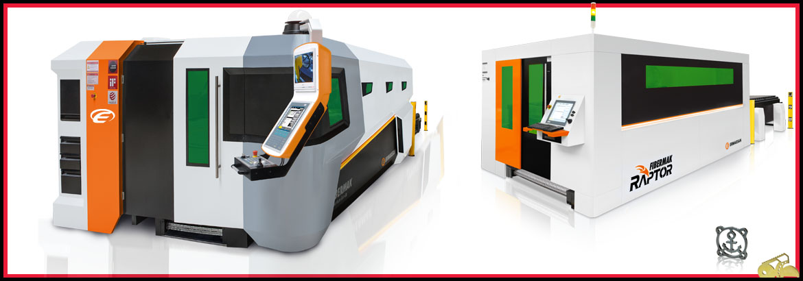 Our new CNC Fiberlaser cutting Machinery in Northern Ireland & Repulblic of Ireland . Ermaksan Fiberlaser cutting machinery - Tower for handling metal sheets for your laser - Bespoke Laser cutting solutions - Enhmach