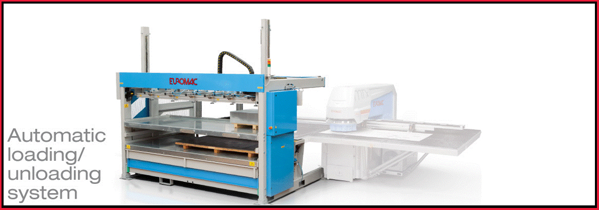 CNC Punch machinery loading system