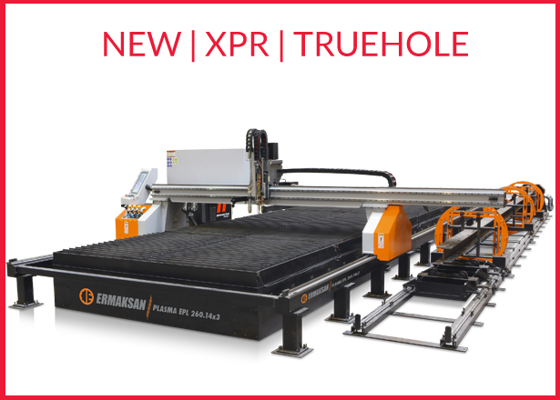 New XPR 300 and xpr170 Hypertherm Plasma Machines - UK and Ireland - CNC Truehole plasma machinery from the number one ranked plasma supplier in Ireland