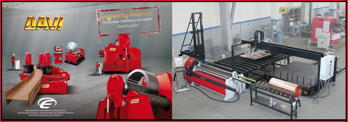 Metal plate rolling machinery ireland