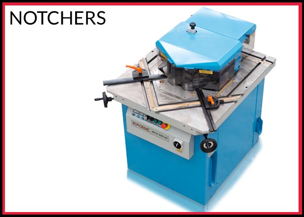 Notcher machinery