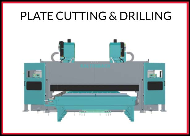PLATE CUTTING AND DRILLING
