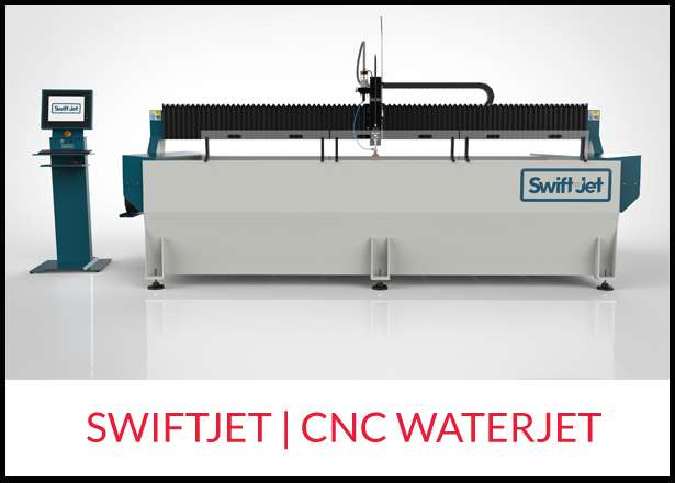 Swiftcut cnc waterjet Ireland hypertherm