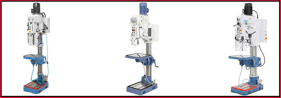 gear headed drilling machinery slider