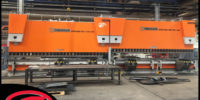 Tandem Pressbrake - UK and Ireland - ENgineering MAchinery - Ermaksan Brake Press - two 6metre 600tonne pressbrakes