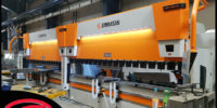 Ermaksan - Press Brake   When might you need a tandem press brake? Any shop evaluating a need for tandem press brakes should start with understanding how they work, the proper applications for them, and any material handling options that might further increase productivity.